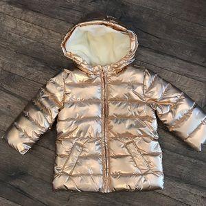 NWT GYMBOREE BABY GIRL's  COAT Gold Sz18-24mo